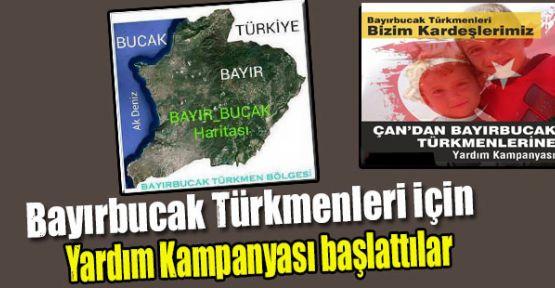 Bayırbucak Türkmenleri İçin Yardım Kampanyası Başlatıldı