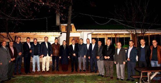 Belediye Başkanları Ayancık'ta Buluştu