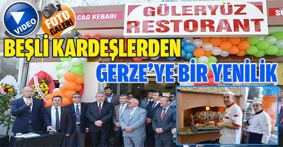 Beşli Kardeşler Tarafından Gerze'ye Nezih Bir Restorant Kazandırıldı