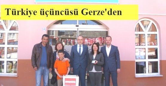 Türkiye Üçüncüsü Gerze'den