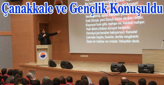 'Çanakkale Ve Gençlik' Konulu Konferans Düzenlendi.