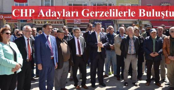 CHP Milletvekili Adaylarından Gerze Çıkartması