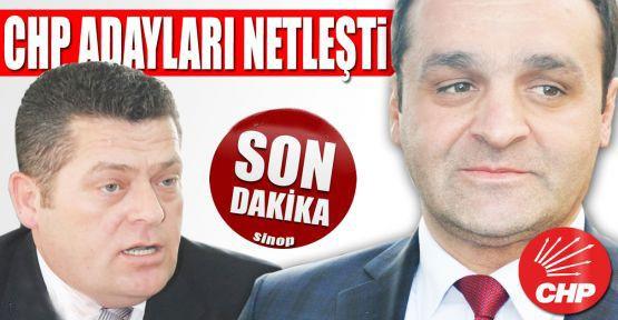 CHP Sinop adaylarını açıkladı