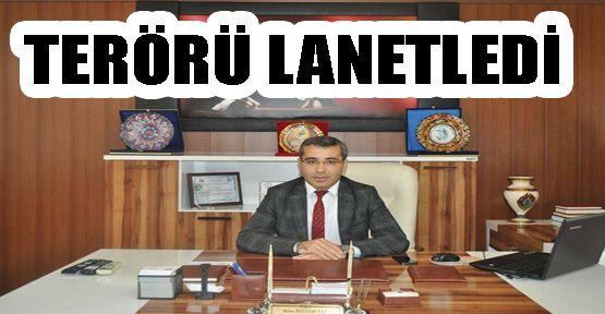 Dikmen Belediye Başkanı Terörü Lanetledi