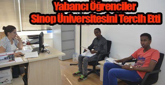 Yabancı Uyruklu Öğrenciler Sinop Üniversitesini Tercih Etti