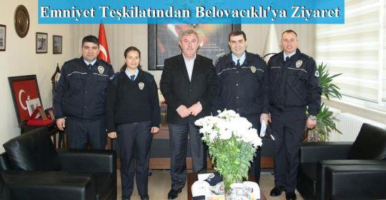 Emniyet Teşkilatından Belovacıklı'ya Ziyaret