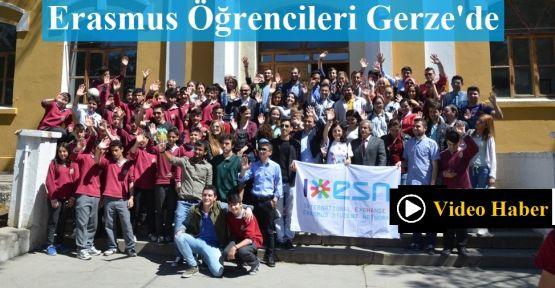 Erasmus Öğrencileri Gerze'de