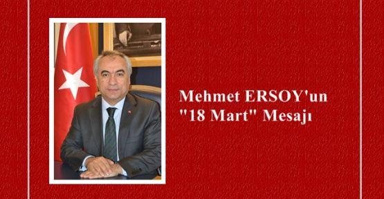 ERSOY'un 18 Mart Mesajı