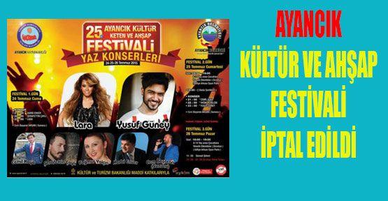 Festival İptal Edildi