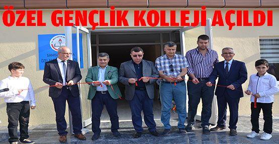Gençlik Koleji Ortaokulu açıldı