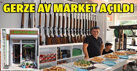 Gerze Av Marketi Hizmete Açıldı