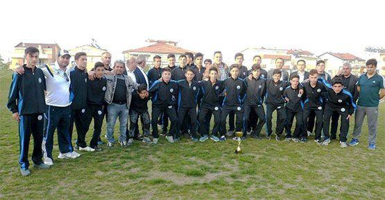 Gerze Belediye Spor U16 Takımı Şampiyon Oldu