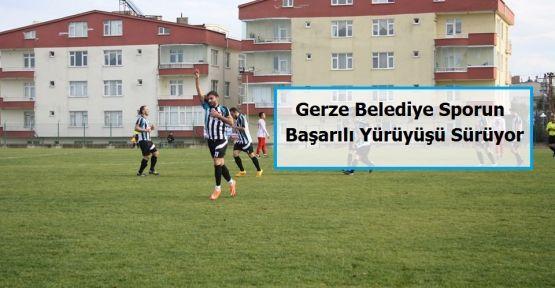 Gerze Belediye Sporun başarılı yürüyüşü sürüyor.