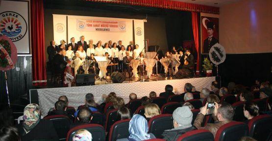Gerze Belediyesinden Türk Sanat Müziği Konseri