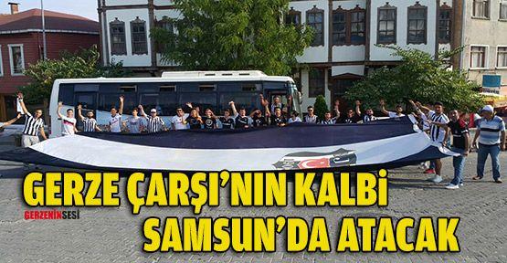 Gerze Çarşı'nın Kalbi Samsun'da Atacak
