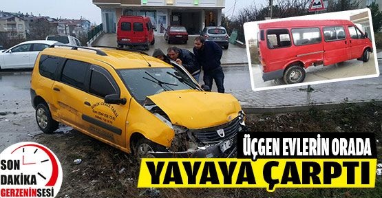 Gerze Güne Trafik Kazasıyla Başladı