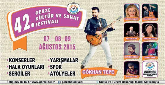 Gerze Kültür ve Sanat Festivali Tarihi Belli Oldu