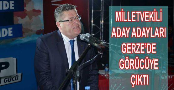 Gerze'de Aday Adaylarını Tanıttı