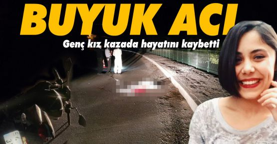 Gerze'de feci kaza; 19 yaşındaki genç kız hayatını kaybetti
