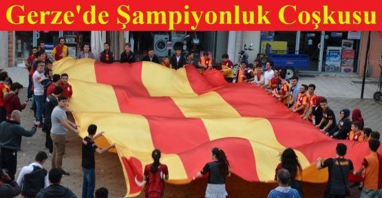 Gerze'de Galatasaray Coşkusu