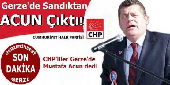 Gerze'de Ön Seçimden Mustafa Acun Galip Çıktı