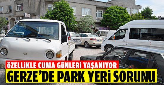 Gerze'de Park Yeri Sorunu!