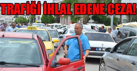 Gerze'de Yoğun Trafik