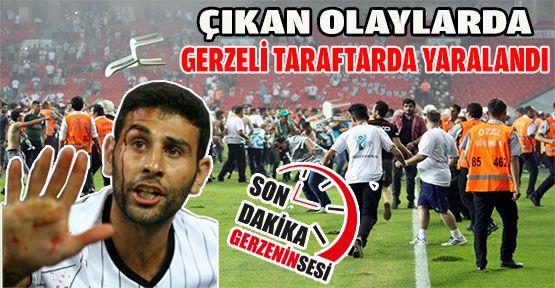 Gerzeli Beşiktaş Taraftarı, Çıkan Olaylarda Yaralandı