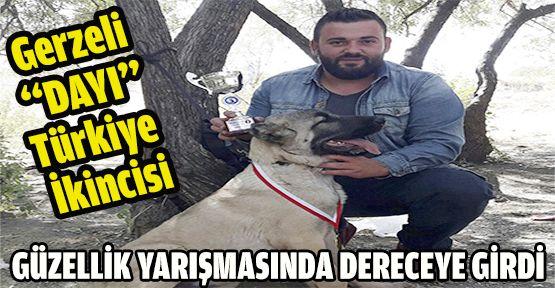 Gerzeli ''DAYI'' Türkiye İkincisi