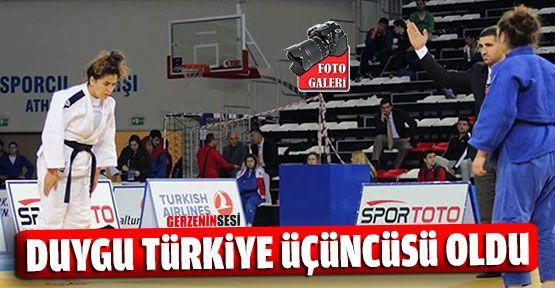 Gerzeli Duygu Judoda Türkiye Üçüncüsü Oldu