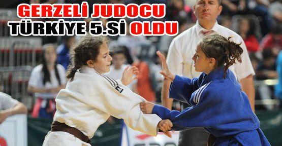 Gerzeli Judocu Türkiye 5.si Oldu