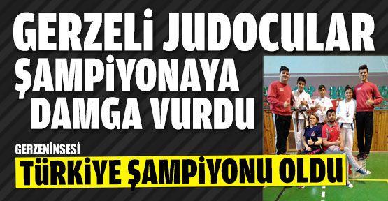 Gerzeli Judocu Türkiye Şampiyonu Oldu