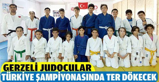 Gerzeli Judocular Türkiye Şampiyonasında Ter Dökecekler