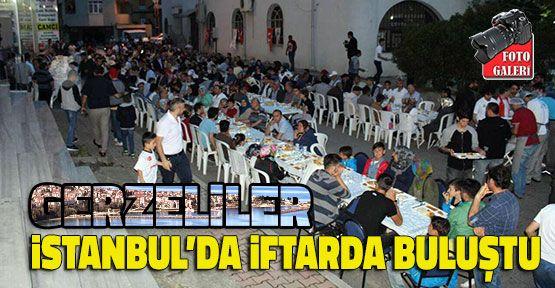 Gerzeliler İstanbul'da İftarda Buluştu