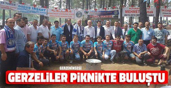 Gerzeliler Sultanbeyli'de Piknikte Buluştu