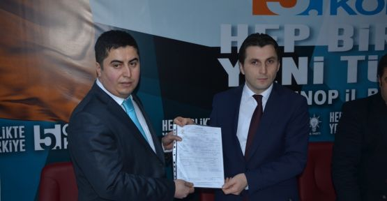 Giresun, AK Parti'den aday adayı