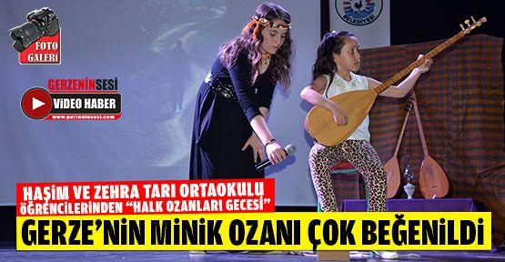 Haşim ve Zehra Tarı Öğrencileri Halk Ozanları Gecesi Düzenledi