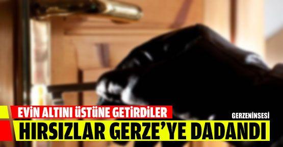Hırsızlar Gerze'ye Dadandı