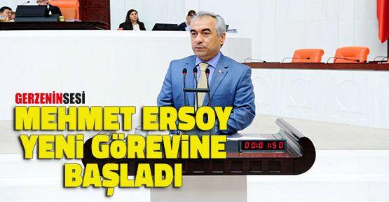 İçişleri Bakan Yardımcısı Olarak Atanan Mehmet Ersoy Görevine Başladı