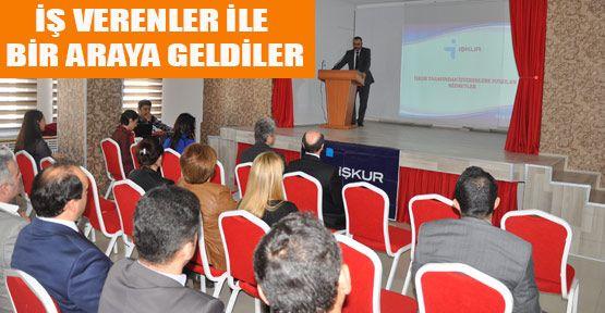 İŞKUR'dan Eğitim Toplantısı