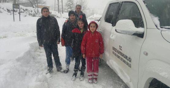 Kar Yağışı Taşımalı Eğitimi Vurdu