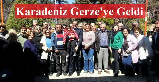 Karadeniz Gerze'ye İlk Ziyaretini Gerçekleştirdi