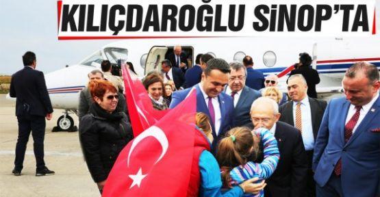 Kemal Kılıçdaroğlu Sinop'ta