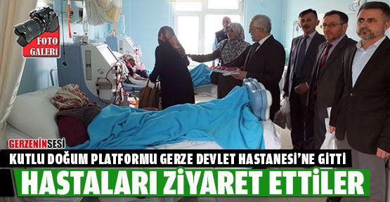Kutlu Doğum Platformu'ndan Hastaneye Ziyaret