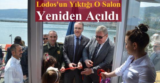 Lodos'un Yıktığı Salon  Yeniden Açıldı