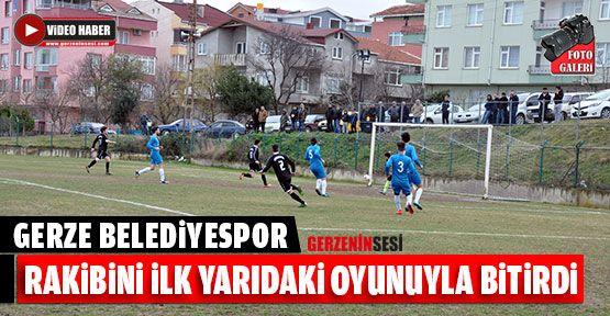 Maç Sonucu, Gerze Belediye Spor-3 Sinop Telekom Spor-0