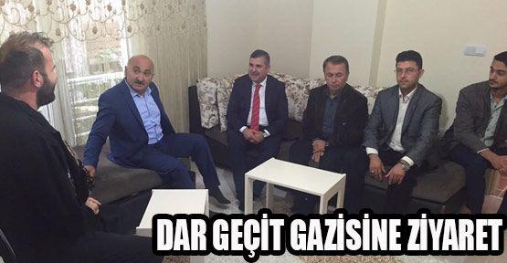 Maviş Gazi Özdemir'i Ziyaret Etti
