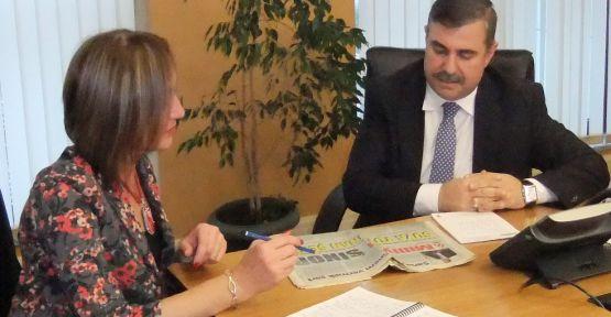 Maviş Milliyet Gazetesine Konuştu