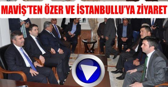 Maviş Özer ve İstanbullu İle Buluştu
