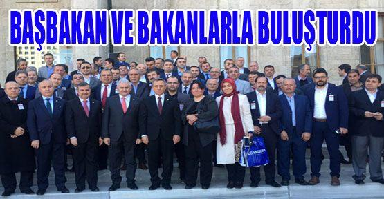 Maviş Sinopluları Başbakan ve Bakanlarla Buluşturdu